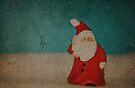 Santa In The Snow by Denise Abé