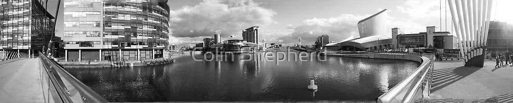 Salford Quays by Colin Shepherd