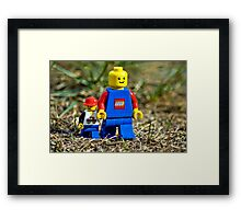 Father/Son Framed Print