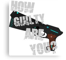 How Guilty Are You? Canvas Print