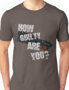How Guilty Are You? Unisex T-Shirt