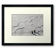 Winter Hike Framed Print