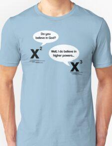 Maths - Do you believe in God? Unisex T-Shirt