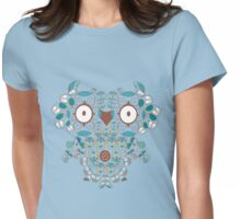 Count them owl Womens Fitted T-Shirt