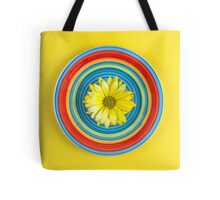 Daisy Color Dance  Tote Bag