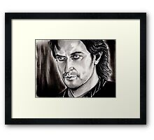 Richard Armitage, Sir Guy of Gisborne Framed Print