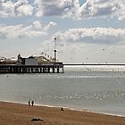 Brighton Pier in East Sussex by Sue Robinson