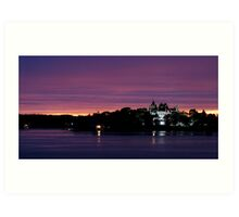 A Boldt Castle Evening Art Print