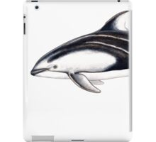 Pacific white-sided dolphin iPad Case/Skin