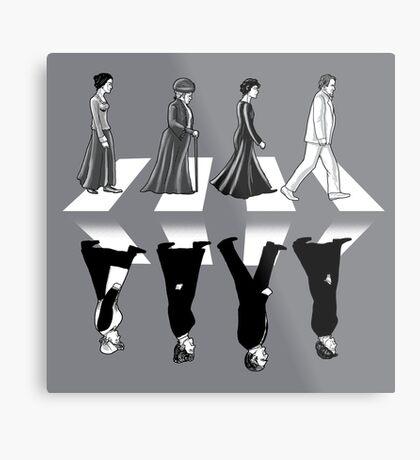 Downton Abbey Road Metal Print