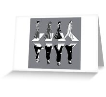 Downton Abbey Road Greeting Card