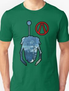 Claptrap and Vault - Borderlands 2 Unisex T-Shirt