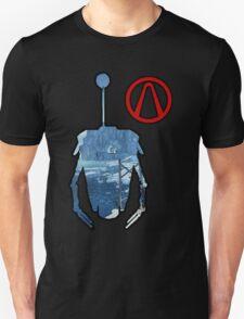 Claptrap and Vault - Borderlands 2 T-Shirt