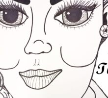 Judy Garland - 2012 Sticker