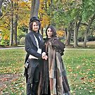 Time Traveling Couple at Lyndhurst Castle by Jane Neill-Hancock