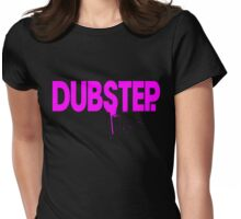 Dubstep. (magenta) Womens Fitted T-Shirt
