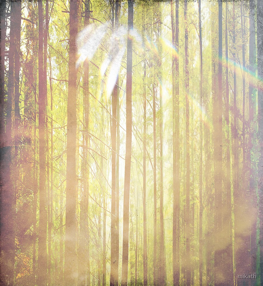 Sacred sun embracing nature by mikath