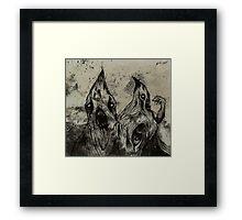 Demogorgon Framed Print
