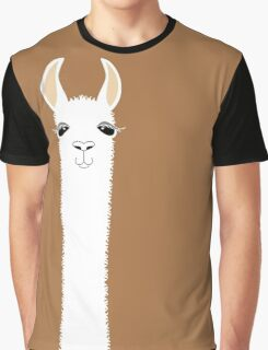 LLAMA PORTRAIT #9 Graphic T-Shirt