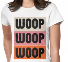 Woop Woop Woop (Pacific) Womens Fitted T-Shirt