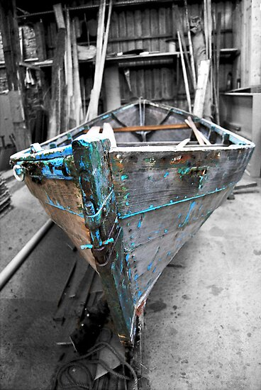 love of boats from the shed [2] by NordicBlackbird