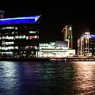 MediaCityUK by Night by Ana Cunha