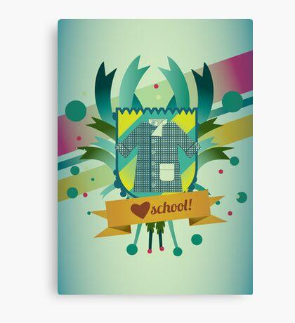 love school Canvas Print