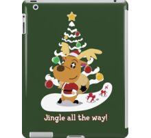 Jingle all the way! iPad Case/Skin
