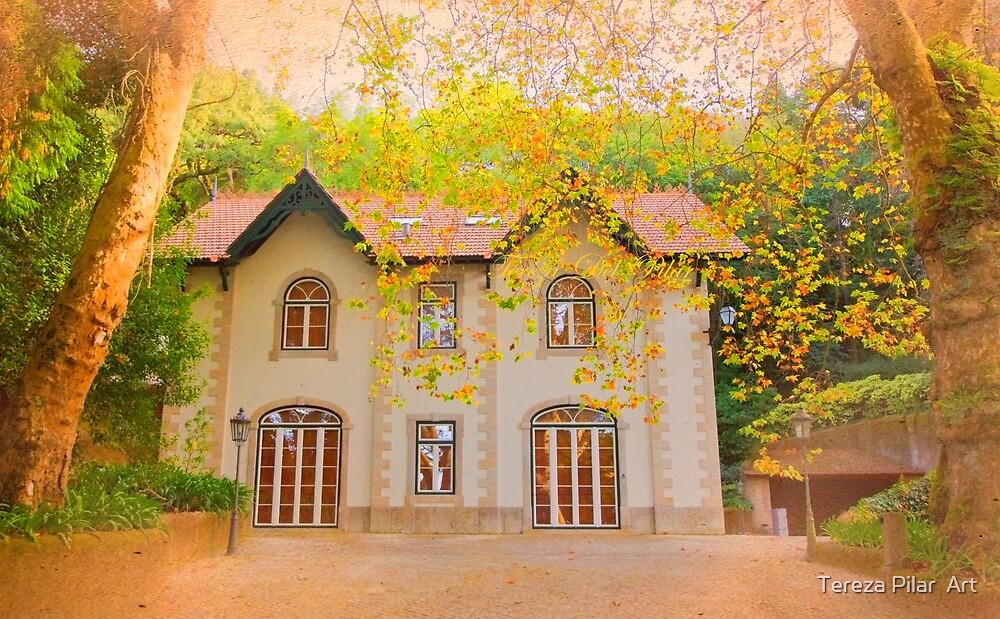 chalet in autumn by terezadelpilar~ art & architecture