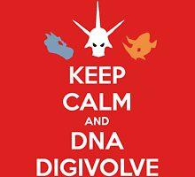 Keep Calm and DNA Digivolve Unisex T-Shirt