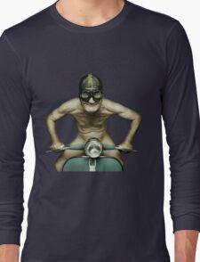 Scooter Man Shirt 2 Long Sleeve T-Shirt