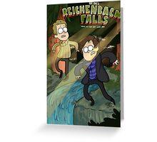 Reichenbach Falls Greeting Card