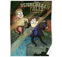 Reichenbach Falls Poster
