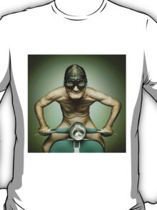Scooter Man Shirt T-Shirt