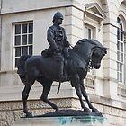Cavalryman Statue by Carla Shirley
