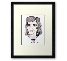 Julie Andrews - 2012 Framed Print