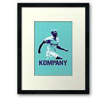 Vincent Kompany Manchester City Framed Print