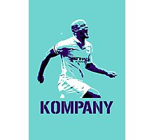 Vincent Kompany Manchester City Photographic Print