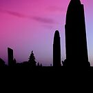 grave stones  by DrewK
