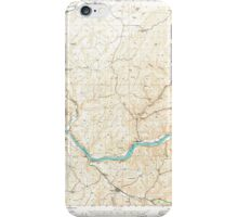 USGS Topo Map Washington State WA Starbuck 244005 1948 62500 iPhone Case/Skin