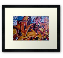 Grafitti Framed Print