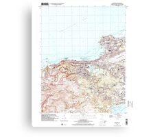 USGS TOPO Map Guam Hagatna 462392 2000 24000 Canvas Print