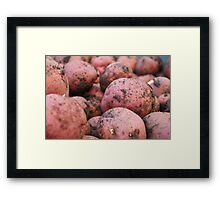 Fresh From The Earth Framed Print