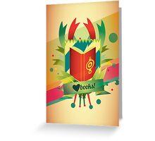 love books Greeting Card