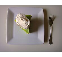 Key Lime Pie Photographic Print