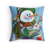For the Birds Throw Pillow