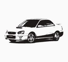 Subaru Impreza WRX 2004 by garts