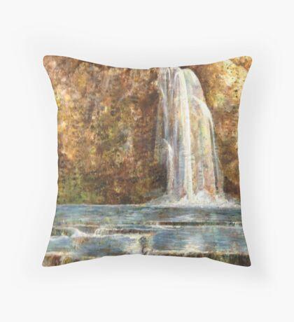 Havasupai Falls Throw Pillow