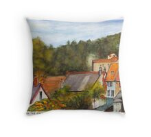 The French village of Billy Throw Pillow