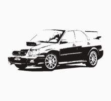 Subaru Impreza WRX STI 2004 by garts